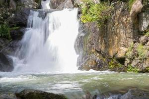 Wasserfall im Tal von Nuria foto