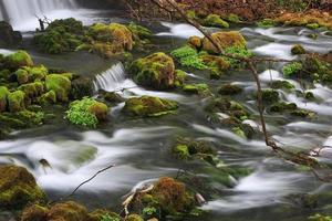 Wasserfall im Maramec Spring Park foto