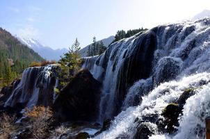bunter Herbst jiuzhaigou foto