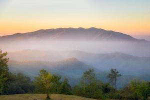 im huai nam dang nationalpark, chiang mai, thailand foto