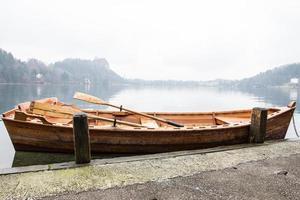 Boot auf einem See