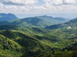 der schöne Aussichtspunkt bei Phu Tup Berk foto