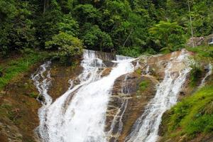Wasserfälle im Cameron Highlands, Malaysia foto