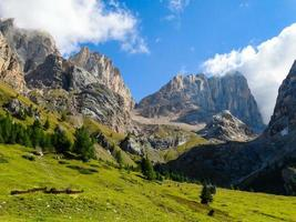 Dolomit Alpen Italien foto