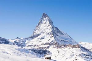 Matterhornberg, Zermatt in der Schweiz foto