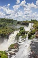 viele wasserfälle im iguazu nationalpark