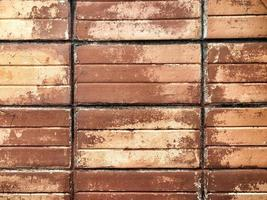Backstein Textur Hintergrund foto