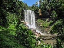 Prenn Wasserfall. da lat. Vietnam