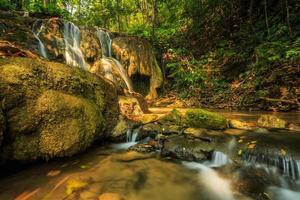 wundervoller wasserfall in thailand, pugang chiangrai