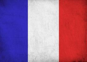 französische Flagge xxl foto