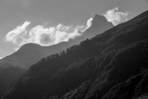 Bergszene foto