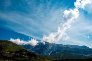 Berge in Albanien foto