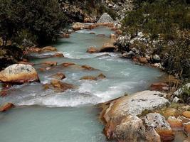 die peruanischen Anden v foto