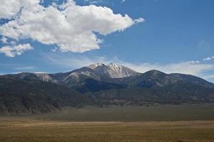 Grenzgipfel, Nevada, USA foto