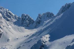 die Fagaras Berge im Winter foto