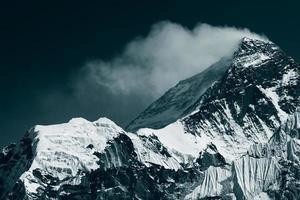 Spitze von mt. Everest foto