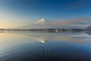 Fuji Berg, Kawaguchiko, Japan foto