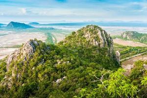 Berghügel in Thailand foto