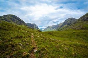 wunderschöne Berge von Glencoe foto