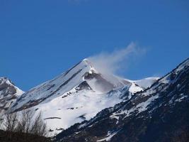 Berg in den Pyrenäen. foto