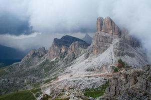 Dolomiten - Blick auf die Hügel foto