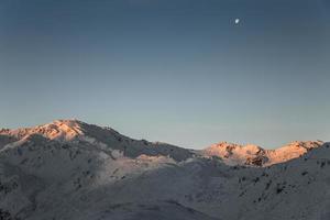 vor Sonnenaufgang foto