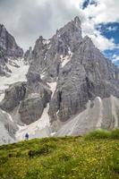 italienische Dolomiten: Cimon della Pala foto
