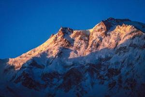 Sonnenaufgang über Nanga Parbat foto