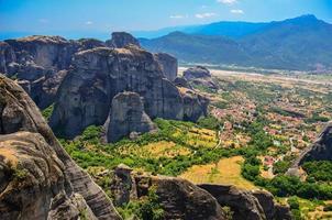 Meteora in Griechenland foto