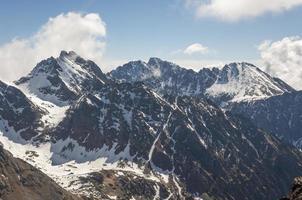 bemerkenswerte Spitzen in Tatras foto