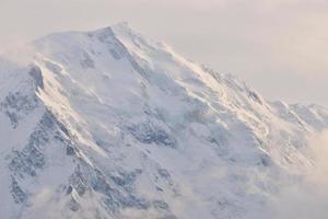 Nanga Parbat ist der neunthöchste Berg der Welt foto
