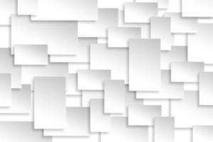 abstrakte Papier Rechteck Design Silber Hintergrund Textur.