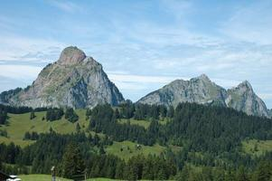 gröberer mythischer Berg foto