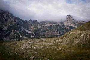 Nebel auf dem Berg