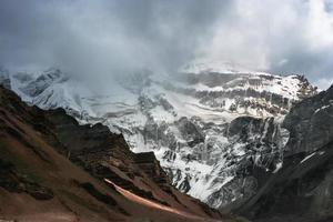 Aconcagua, Mendoza, Argentinien foto