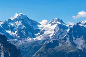 Breithorn und Berner Alpen