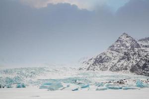 isländischer Gletscher foto