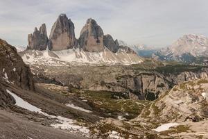 Tre Cime di Lavaredo Gipfel foto