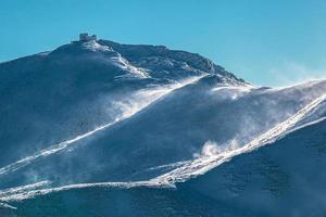 Gipfel des Pop Ivan in der Chornohora foto