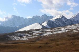 der nördliche tien shan foto