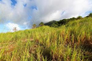 Mount Liamuiga in Saint Kitts
