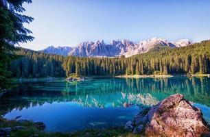 Karerlake in Italien foto