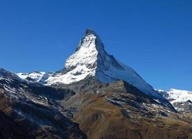 majestätisches Matterhorn foto
