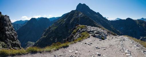 polnische hohe tatras berge. foto