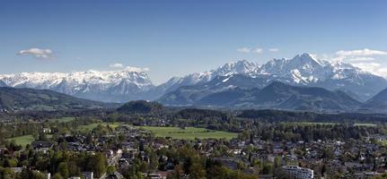 die alpen in salzburg