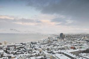 Reykjavik und Videy Island