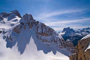 Dolomiten Berg im Winter, Italien foto