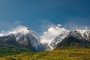 Schneesturm foto