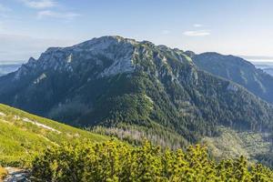 prominenter Gipfel der westlichen Tatras