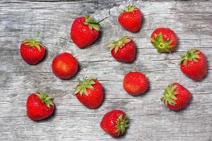 frische Erdbeeren foto